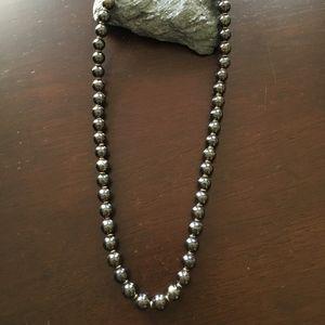 Jewelry - Hematite Bead Necklace
